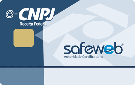 Certificado digital e-CNPJ